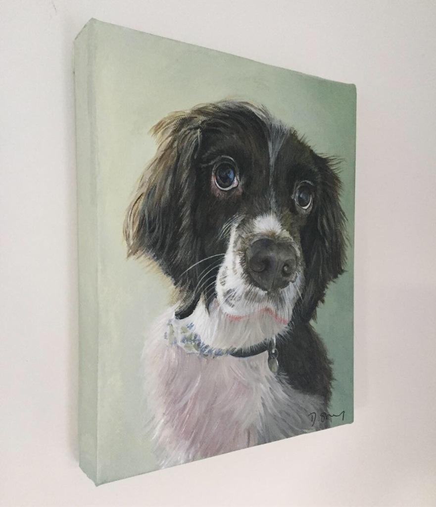 ocker Spaniel painting
